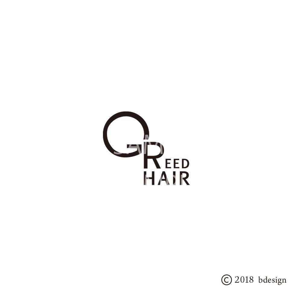 GREEDhairのロゴサンプル1